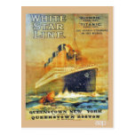 White Star Line Titanic & Olympic ad
