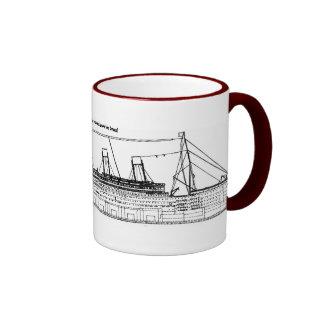 White Star Liners Coffee Mugs