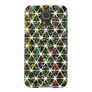 White Stars Pattern Galaxy S5 Cases