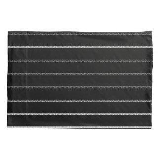 White Stripes Decorative Designer Pillowcases