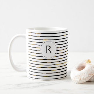 "White Stripes ""faux 3D"" Monogram 