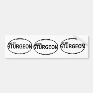 White Sturgeon Euro Stickers