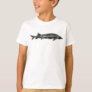 White Sturgeon Gyotaku-40-Item T-Shirt