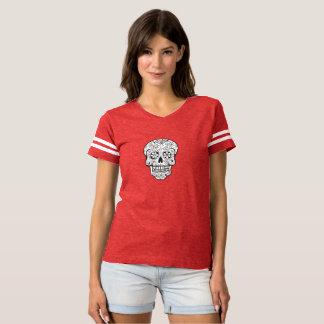 White Sugar Skull (Day of the Dead) T-Shirt