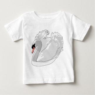 white swan baby T-Shirt