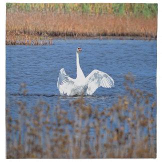 White Swan Solo.JPG Napkin