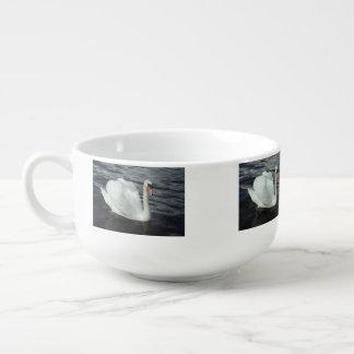 White Swan Soup Mug