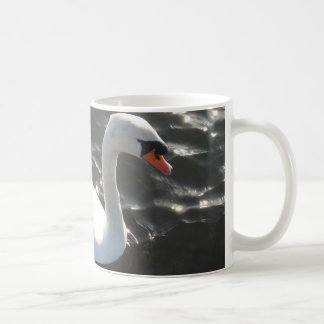 White Swan White Coffee Mug