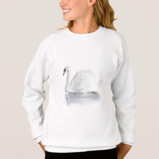 White Swan White Sweatshirt