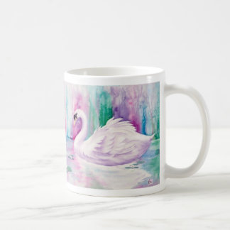 White Swans Coffee Mug