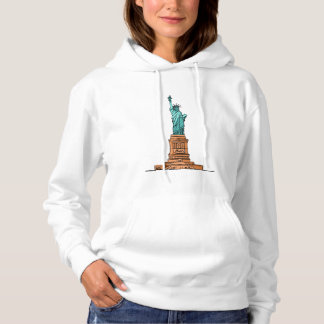 White Sweat A Hood Woman Rules Of Freedom Hoodie