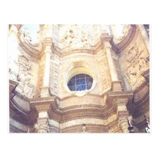 White Synagogue Spain Valencia Spain Postcard