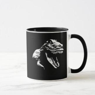White T Rex Mug