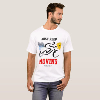White T-shirt with motivation