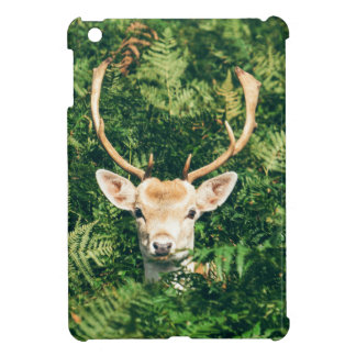 White-Tailed Deer Peeking Out of Bushes iPad Mini Case