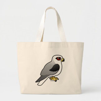 White-tailed Kite Large Tote Bag