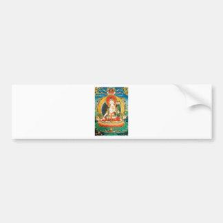 WHITE TARA BUDDHIST DEITY BUMPER STICKER