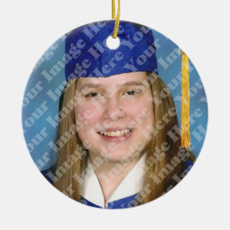 White Tassel Graduation Keepsake Ornament