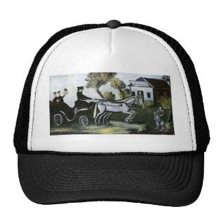 White tavern by Niko Pirosmani Trucker Hat