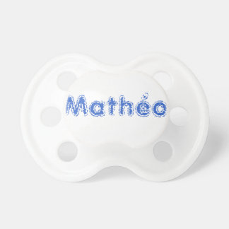 WHITE TEAT MATHEO PACIFIER