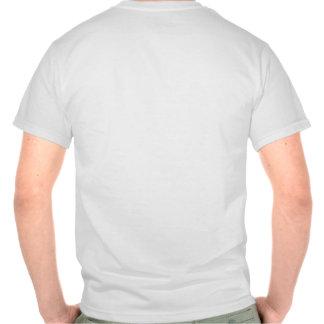 White tee-shirt - black ASCII logo