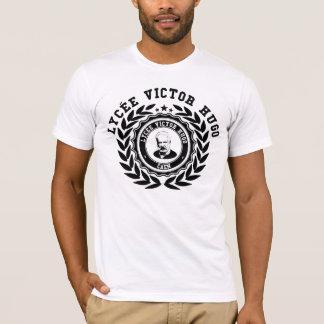 White tee-shirt black logo LVH T-Shirt