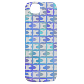 White Teeth Blue Pattern Box Dentist iPhone Case