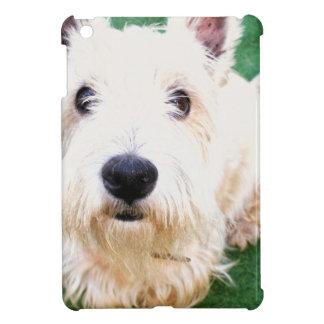 White Terrier iPad Mini Cases