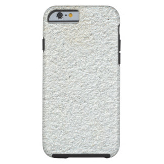 White Textured Cement Tough iPhone 6 Case