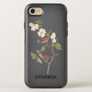 White Throated Sparrow Vintage Audubon Art OtterBox Symmetry iPhone 8/7 Case