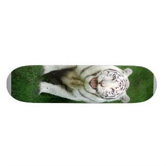 White tiger 018 skateboard deck