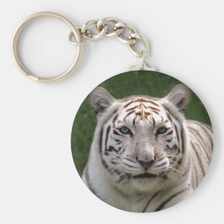 White Tiger 3949e Basic Round Button Key Ring