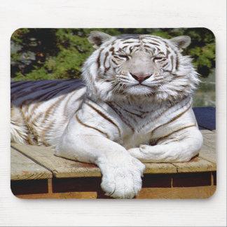 White Tiger 9 Mousepad