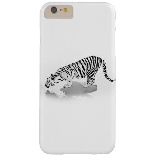 White Tiger Barely There iPhone 6 Plus Case