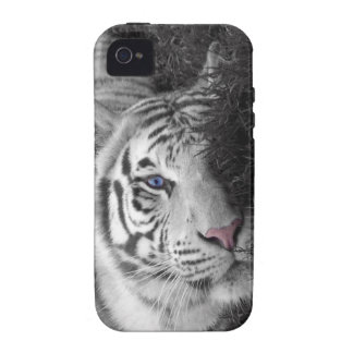 White tiger iPhone 4/4S cover