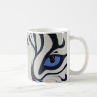 White Tiger Coffee Mug