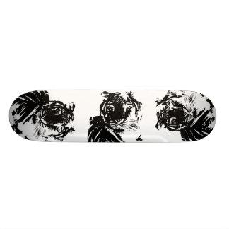 White Tiger Custom Skate Board