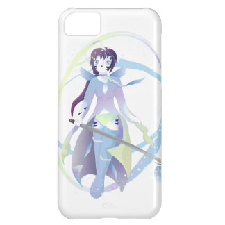 White Tiger Girl Mage Cover For iPhone 5C