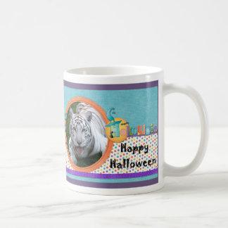 White Tiger Halloween Mug