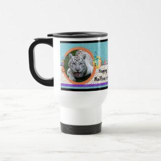 White Tiger Halloween Travel Mug