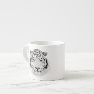 White Tiger Head Espresso Cup