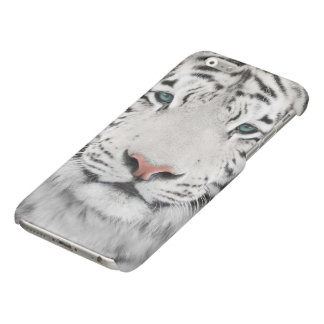 White Tiger Head Glossy iPhone 6 Case
