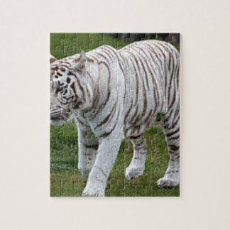 White Tiger Jigsaw Puzzle