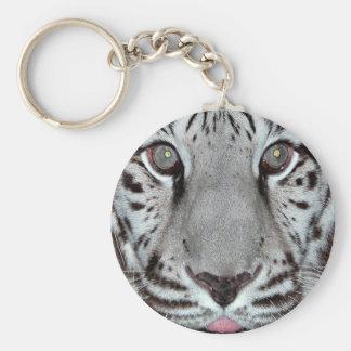 White Tiger Key Ring