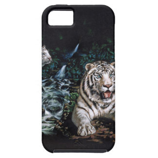 White Tiger Magical Jungle iPhone 5 Covers