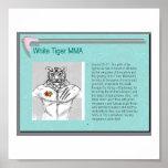 white_tiger_mma print