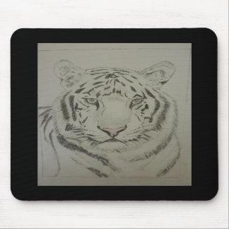 White Tiger Mousepad