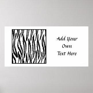 White Tiger Print Tiger Pattern