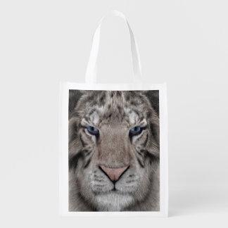 White Tiger Reusable Grocery Bag