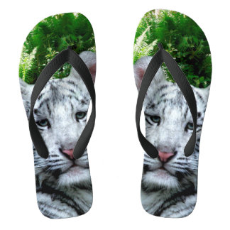 White Tiger Thongs
